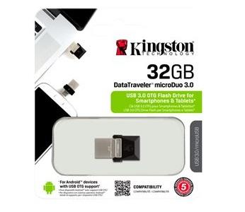 OTG (USB-MICRO) 32GB KINGSTON 3.0