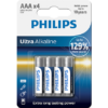 PILA LR-03 PHILIPS ULTRA ALCALINA B/4