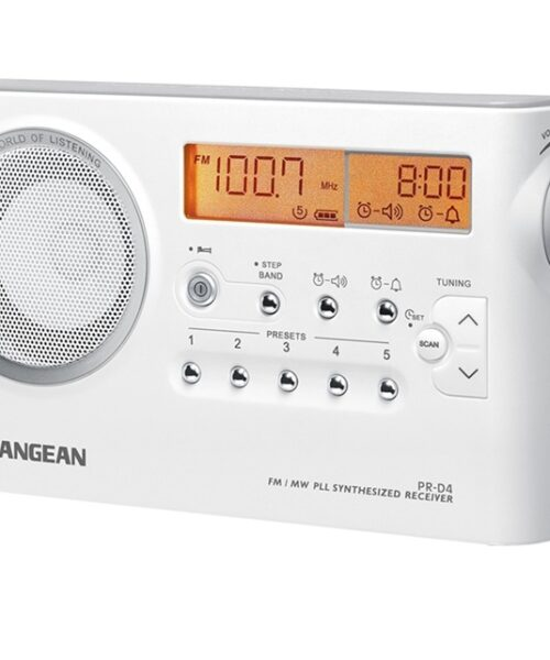 RADIO DIGITAL FM/AM PR-D4 SANGEAN BLANCO