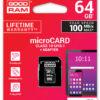MICRO SD GOODRAM 64GB C10 UHS-I CON ADAPTADOR